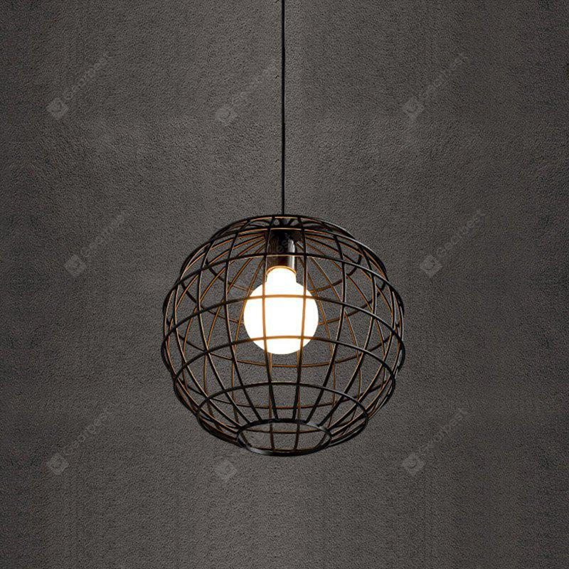 BLACK CXYlight DD 036 American Retro Village Iron Pendant Lamp