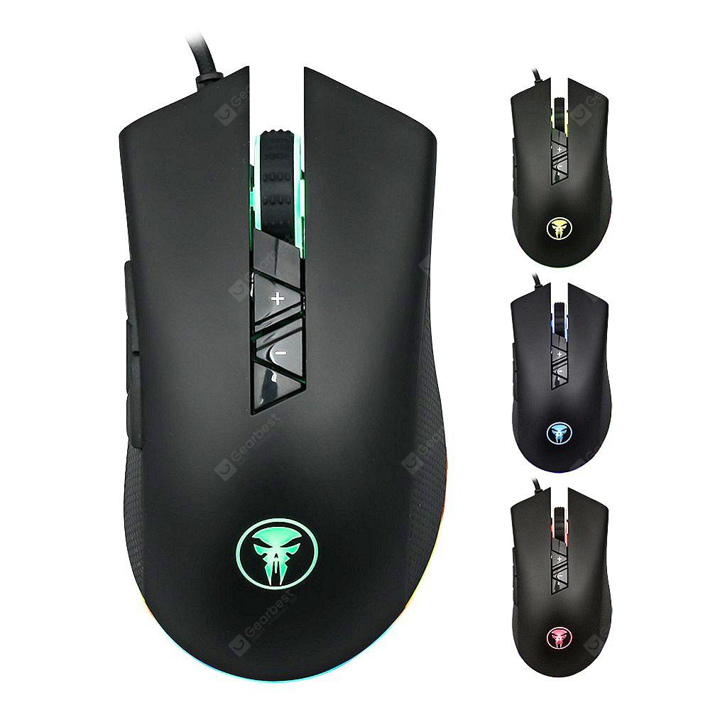 M88 Wired 8D Gaming Mouse RGB Breathing 4000DPI