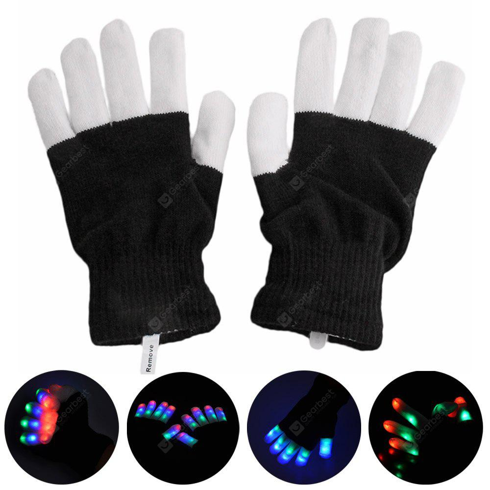 YouOKLight RGB 6 Mode Flashing LED Glove for Christmas
