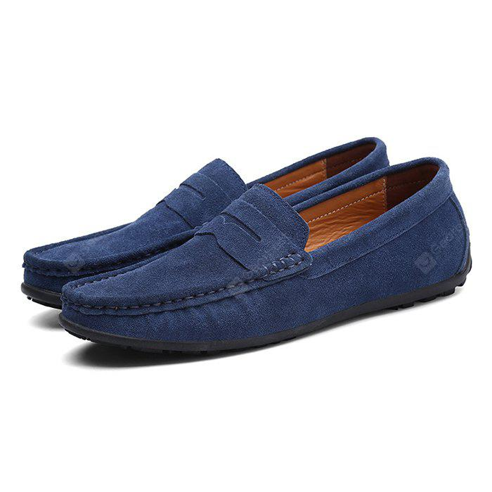 Male Fresh Soft Thin Light Casual Lofer Oxford Shoes