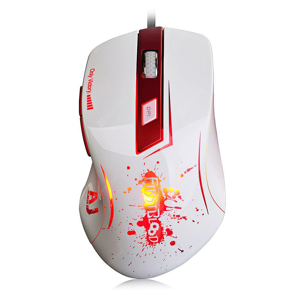 AJAZZ AJ100 Gaming Mouse Breathing Lamp A9800 Engine