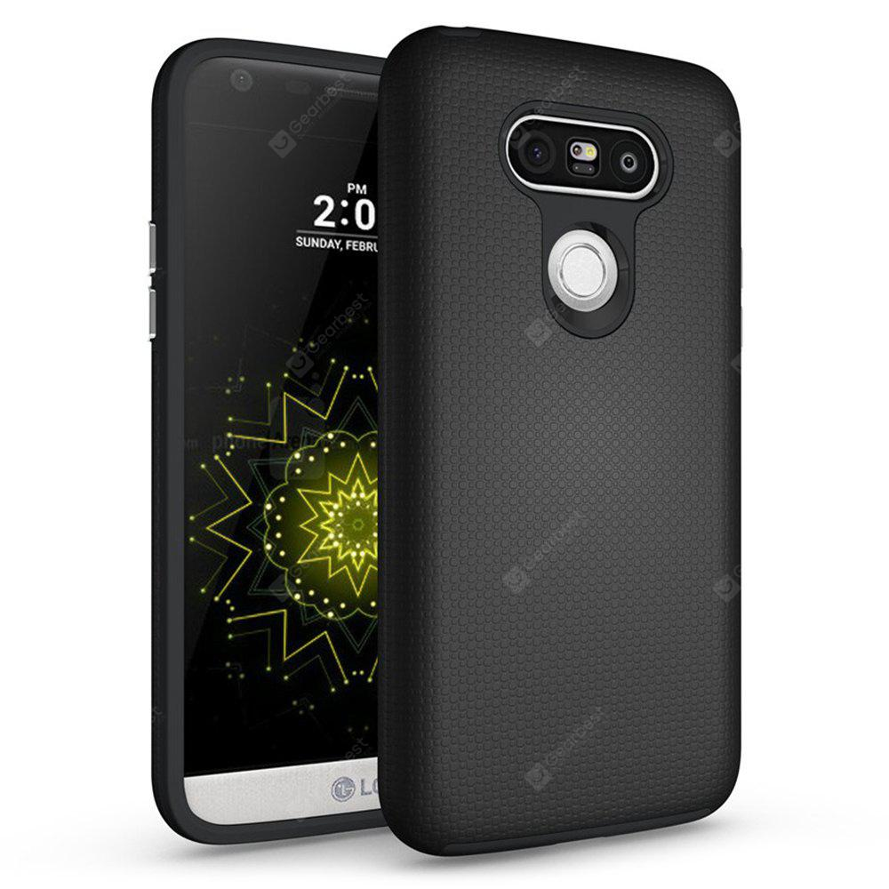 Non-slip Surface Shockproof Back PC Case for LG G5