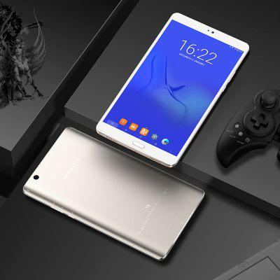 Gearbest Teclast Master T8 Tablet PC Fingerprint Recognition - CHAMPAGNE GOLD Android 7.0 MTK8176 13.0MP Front Camera