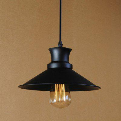 Buy BLACK CXYlight Dd 040 American Retro Village Iron Pendant Lamp for $48.13 in GearBest store