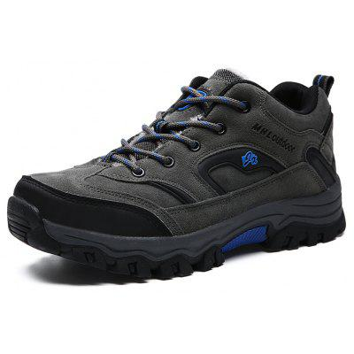 Male Versatile Velvet Warmest Hiking Athletic Shoes