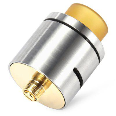ST C RDA AtomizerVapor Styles<br>ST C RDA Atomizer<br><br>Atomizer Type: Rebuildable Drippers, Rebuildable Atomizer<br>Connection Threading of Atomizer: 510<br>Connection Threading of Battery: 510<br>Material: Brass, Stainless Steel, Copper<br>Package Contents: 1 x Accessory Bag<br>Package size (L x W x H): 4.00 x 4.00 x 5.80 cm / 1.57 x 1.57 x 2.28 inches<br>Package weight: 0.0490 kg<br>Product size (L x W x H): 2.40 x 2.40 x 3.60 cm / 0.94 x 0.94 x 1.42 inches<br>Product weight: 0.0370 kg