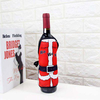 Buy COLORMIX Christmas Decorative Wine Bottle Cover for $1.78 in GearBest store