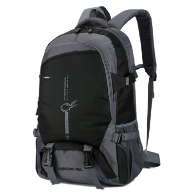 Outdoor Large Capacity Nylon Backpack for Climbing / Hiking
