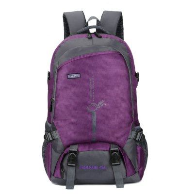 Outdoor Large Capacity Nylon Backpack for Climbing / HikingBackpacks<br>Outdoor Large Capacity Nylon Backpack for Climbing / Hiking<br><br>Features: Wearable<br>For: Climbing, Traveling, Outdoor, Hiking<br>Gender: Unisex<br>Material: Polyester, Nylon<br>Package Size(L x W x H): 40.00 x 33.00 x 5.00 cm / 15.75 x 12.99 x 1.97 inches<br>Package weight: 0.6200 kg<br>Packing List: 1 x Backpack<br>Product weight: 0.6000 kg<br>Style: Fashion, Casual<br>Type: Backpacks