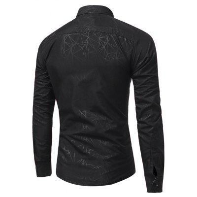 WSGYJ 1600 - 7680 Trendy Long Sleeve Slim Men ShirtMens Shirts<br>WSGYJ 1600 - 7680 Trendy Long Sleeve Slim Men Shirt<br><br>Brand: WSGYJ<br>Closure Type: Button<br>Material: Cotton, Polyester<br>Package Contents: 1 x Shirt<br>Package size: 40.00 x 30.00 x 4.00 cm / 15.75 x 11.81 x 1.57 inches<br>Package weight: 0.3200 kg<br>Product weight: 0.3000 kg