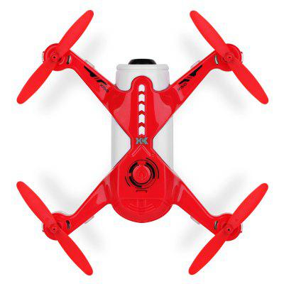 XK X150 - W RC Quadcopter - RTFRC Quadcopters<br>XK X150 - W RC Quadcopter - RTF<br><br>Age: Above 14 years old<br>Battery: 3.7V 800mAh LiPo<br>Brand: XK<br>Built-in Gyro: 6 Axis Gyro<br>Camera Pixels: 1MP<br>Channel: 4-Channels<br>Charging Time.: 120mins<br>Compatible with Additional Gimbal: No<br>Control Distance: 50-100m<br>Detailed Control Distance: 100m<br>Features: Camera, Brushed Version, Radio Control, WiFi APP Control, WiFi FPV<br>Flying Time: 8~9mins<br>Functions: With light, WiFi Connection, Up/down, Turn left/right, Speed up, Slow down, Emergency Landing, Forward/backward, Headless Mode, 3D rollover, Low-voltage Protection, One Key Taking Off, Sideward flight, One Key Landing<br>Kit Types: RTF<br>Level: Beginner Level<br>Material: ABS/PS, Electronic Components<br>Model: X150 - W<br>Model Power: Built-in rechargeable battery<br>Motor Type: Brushed Motor<br>Package Contents: 1 x Quadcopter ( Battery Included ), 1 x Transmitter, 1 x USB Cable, 1 x USB Charger, 4 x Propeller, 4 x Propeller Guard, 1 x English Manual<br>Package size (L x W x H): 24.40 x 20.50 x 12.80 cm / 9.61 x 8.07 x 5.04 inches<br>Package weight: 0.7150 kg<br>Product size (L x W x H): 17.70 x 17.70 x 4.30 cm / 6.97 x 6.97 x 1.69 inches<br>Product weight: 0.1000 kg<br>Radio Mode: Mode 2 (Left-hand Throttle),WiFi APP<br>Remote Control: 2.4GHz Wireless Remote Control<br>Sensor: Barometer,Optical Flow<br>Size: Small<br>Transmitter Power: 4 x 1.5V AA battery(not included)<br>Type: Indoor, Outdoor, Quadcopter<br>Video Resolution: 720P HD