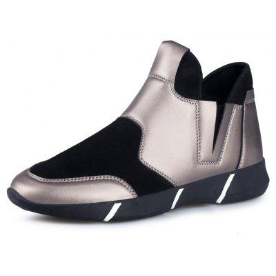 Male CENTURY COOL SITES Sports Street Casual Leather ShoesCasual Shoes<br>Male CENTURY COOL SITES Sports Street Casual Leather Shoes<br><br>Brand: CENTURY COOL SITES<br>Closure Type: Slip-On<br>Contents: 1 x Pair of Shoes, 1 x Box<br>Decoration: Split Joint<br>Function: Slip Resistant<br>Lining Material: Cotton Fabric<br>Materials: Microfiber Leather, Rubber, Fabric<br>Occasion: Sports, Shopping, Riding, Rainy Day, Outdoor Clothing, Casual, Holiday, Daily<br>Outsole Material: Rubber<br>Package Size ( L x W x H ): 30.00 x 18.00 x 12.00 cm / 11.81 x 7.09 x 4.72 inches<br>Package Weights: 0.80kg<br>Pattern Type: Solid<br>Seasons: Autumn,Winter<br>Style: Modern, Leisure, Fashion, Comfortable, Casual<br>Toe Shape: Round Toe<br>Type: Casual Leather Shoes<br>Upper Material: Microfiber Leather