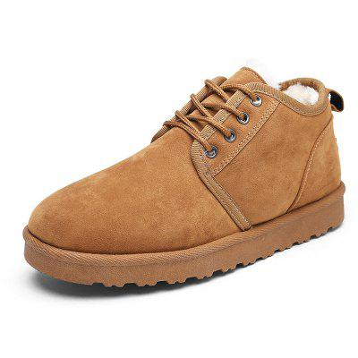 Male Nostalgic Casual Warmest Thicken Ankle Snow BootsMens Boots<br>Male Nostalgic Casual Warmest Thicken Ankle Snow Boots<br><br>Closure Type: Lace-Up<br>Contents: 1 x Pair of Shoes, 1 x Box, 1 x Dustproof Paper<br>Function: Slip Resistant<br>Materials: Suede, Rubber<br>Occasion: Tea Party, Shopping, Office, Holiday, Outdoor Clothing, Casual, Daily, Dress<br>Outsole Material: Rubber<br>Package Size ( L x W x H ): 33.00 x 22.00 x 11.00 cm / 12.99 x 8.66 x 4.33 inches<br>Package Weights: 0.75kg<br>Pattern Type: Solid<br>Seasons: Autumn,Winter<br>Style: Modern, Leisure, Fashion, Comfortable, Casual<br>Toe Shape: Round Toe<br>Type: Boots<br>Upper Material: Suede