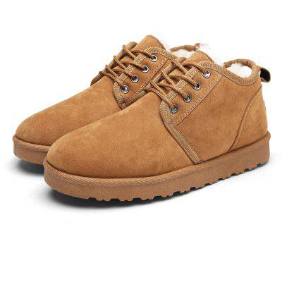 Male Nostalgic Casual Warmest Thicken Ankle Snow Boots