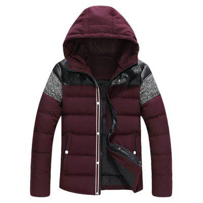 Stylish Warm hooded Winter Down Jacket