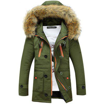 Fashion Hooded Winter Jacket