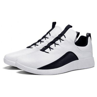 Male Lustrous Soft Ultralight Sports Sneakers