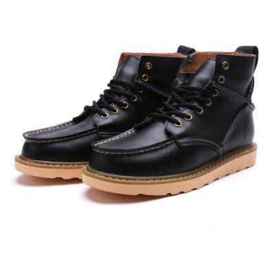 Male Classic Versatile High-top Casual Martin Boots