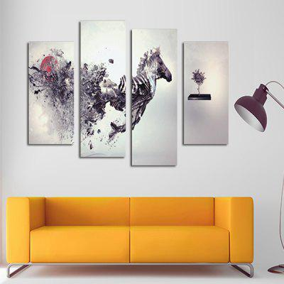 God Painting Horse Printed Painting Canvas Print 4PCSPrints<br>God Painting Horse Printed Painting Canvas Print 4PCS<br><br>Brand: God Painting<br>Craft: Print<br>Form: Four Panels<br>Material: Canvas<br>Package Contents: 4 x Print<br>Package size (L x W x H): 42.00 x 6.00 x 6.00 cm / 16.54 x 2.36 x 2.36 inches<br>Package weight: 0.3800 kg<br>Painting: Without Inner Frame<br>Product weight: 0.3400 kg<br>Shape: Vertical<br>Style: Artistic<br>Subjects: Animal<br>Suitable Space: Bedroom,Living Room,Pathway
