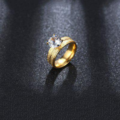 Stylish Golden Zircon RingRings<br>Stylish Golden Zircon Ring<br><br>Occasions: Casual<br>Package Contents: 1 x Ring<br>Package size (L x W x H): 4.00 x 4.00 x 3.00 cm / 1.57 x 1.57 x 1.18 inches<br>Package weight: 0.0230 kg<br>Product weight: 0.0030 kg<br>Style: Fashion<br>Type: Rings