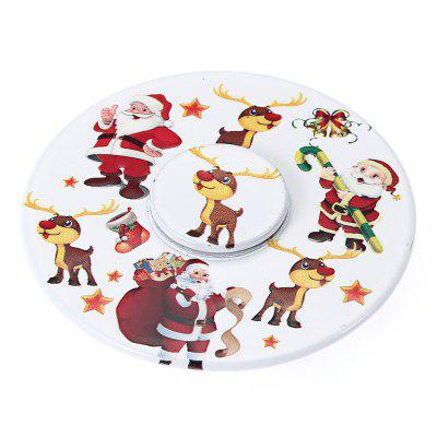 Lovely Christmas Santa Claus Pattern Fidget Spinner Gyro Toy