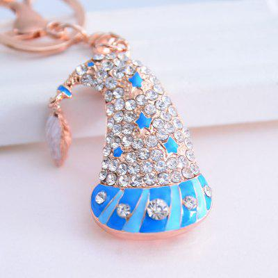 Beautiful Boutique Pendant Christmas Cap Key Ring
