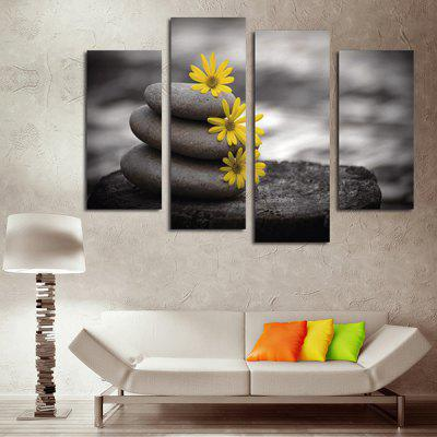 God Painting Stone Flower Wall Art Printing Picture 4 PanelsPrints<br>God Painting Stone Flower Wall Art Printing Picture 4 Panels<br><br>Brand: God Painting<br>Craft: Print<br>Form: Four Panels<br>Material: Canvas<br>Package Contents: 4 x Painting<br>Package size (L x W x H): 42.00 x 6.00 x 6.00 cm / 16.54 x 2.36 x 2.36 inches<br>Package weight: 0.3800 kg<br>Painting: Without Inner Frame<br>Product weight: 0.3400 kg<br>Shape: Vertical<br>Style: Natural, Beautiful<br>Subjects: Flower<br>Suitable Space: Bedroom,Dining Room,Hotel,Living Room,Office
