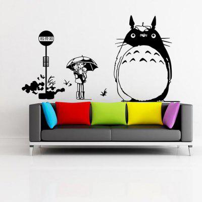 Fadeless Cartoon Style PVC Wall Sticker Home Decor