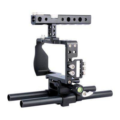 YELANGU C6 Camera Video Cage Kit with Handle Grip for Sony