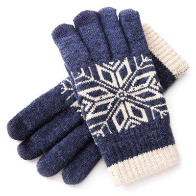 Gearbest Xiaomi Comfortable Keep Warm Touch Screen Gloves for Men