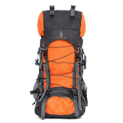 Buy ORANGE YELLOW Outdoor Large Capacity Water-resistant Travel Backpack for $32.99 in GearBest store