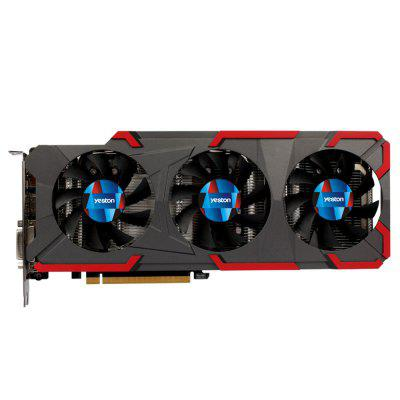 Yeston GeForce GTX1080 8G D5X GAEA 10 GHz Grafikkarte
