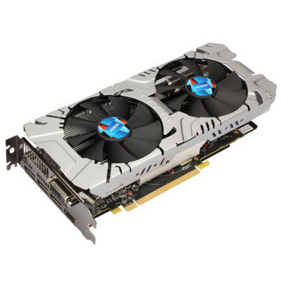 Yeston RX580 GPU Graphics Card 2pcs lot cooler fans rx580 rx480 video card cooling fan for radeon rx 480 msi rx 580 asic bitcoin mine gpu graphics card cooling