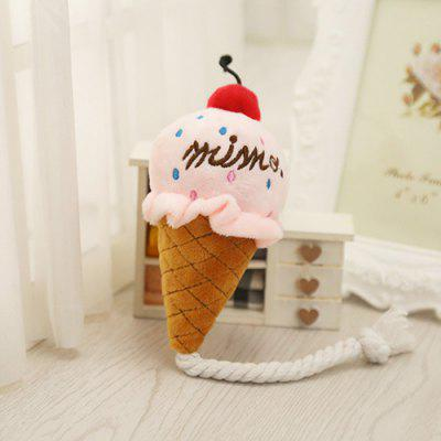 Ice Cream Style Pet Dog Toy with Sound