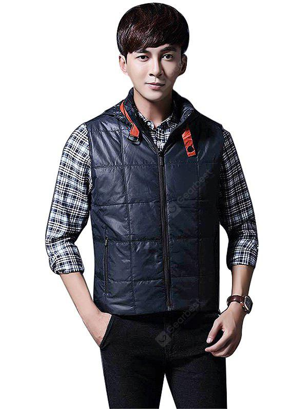 Jeep Rich Male Trendy Stand-up Collar Thickening Vest