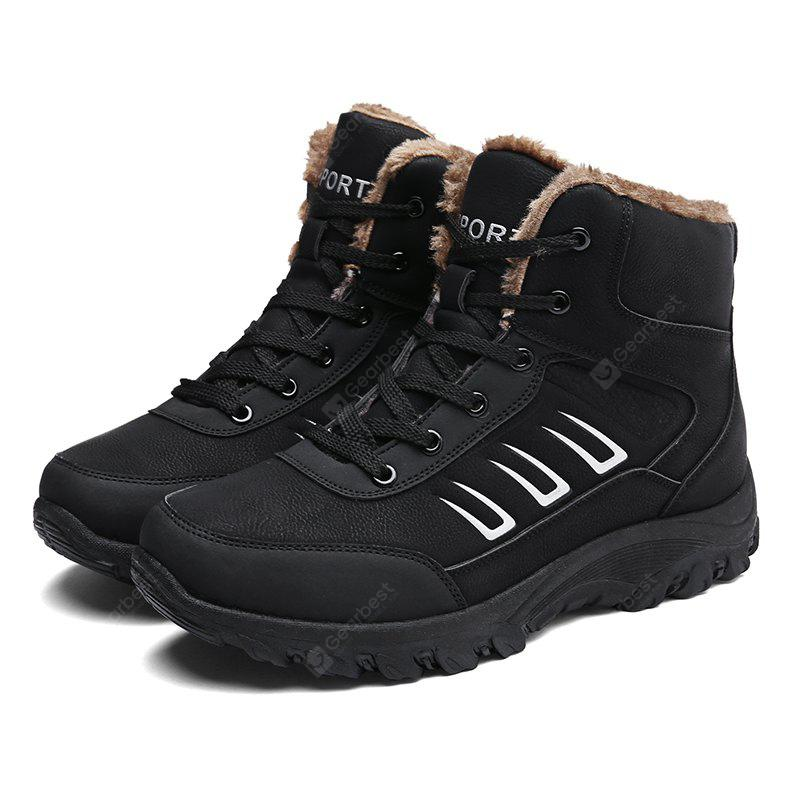 Male Warmest Thicken Soft Non-slip High Padded Boots