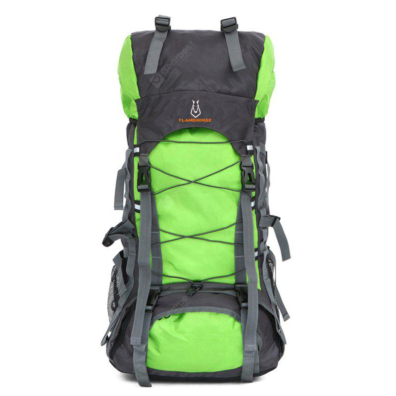 APPLE GREEN Outdoor Large Capacity Water-resistant Travel Backpack
