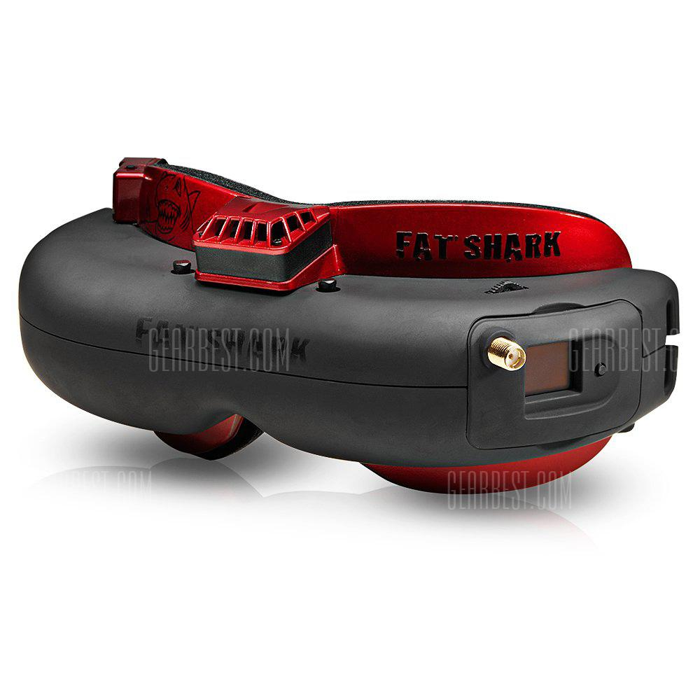 Bons Plans Gearbest Amazon - Fat Shark Attitude V4 5.8G 32CH FPV Goggles COLORMIX