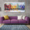 Mintura Modern Oil Painting Unframed New York Wall Art - COLORMIX