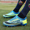 Male Stylish Colorful Soft Lightweight Soccer Sneakers - BLUE