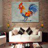 Mintura Modern Canvas Oil Painting Hanging Cock Artwork - COLORMIX
