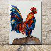 Mintura Canvas Oil Painting Hanging Cock Wall Art - COLORMIX