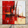 Mintura Square Oil Painting Abstract Hanging Wall Art - COLORMIX