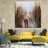 Mintura MT160863 Hand Painted Oil Painting - COLORMIX