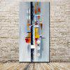 Mintura MT160877 Hand Painted Abstract Canvas Oil Painting - COLORMIX