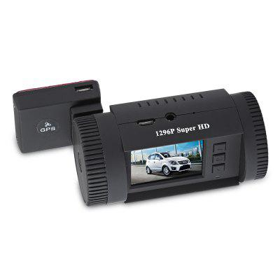 MINI 0826 1,5 polegadas 1296P HD LCD Screen GPS Car DVR Camcorder