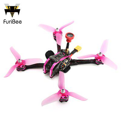 FuriBee GT 215MM Fire Dancer FPV Racing Drone - BNF WITH FRSKY RECEIVER COLORMIX