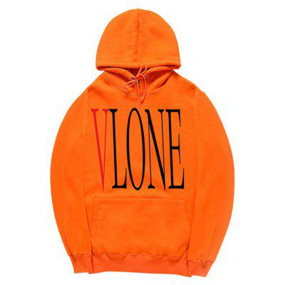Buy ORANGE M HZIJUE Printed Sweatshirt for Men for $23.49 in GearBest store