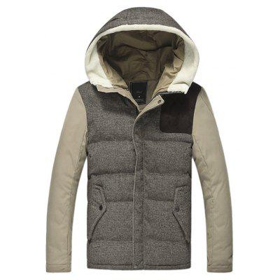 Simple Comfortable Hooded Winter Jacket