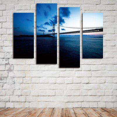 God Painting xyt - 1067 Canvas Prints River BridgePrints<br>God Painting xyt - 1067 Canvas Prints River Bridge<br><br>Brand: God Painting<br>Craft: Print<br>Form: Four Panels<br>Material: Canvas<br>Package Contents: 4 x Print<br>Package size (L x W x H): 42.00 x 6.00 x 6.00 cm / 16.54 x 2.36 x 2.36 inches<br>Package weight: 0.3800 kg<br>Painting: Without Inner Frame<br>Product size (L x W x H): 120.00 x 80.00 x 0.10 cm / 47.24 x 31.5 x 0.04 inches<br>Product weight: 0.3400 kg<br>Shape: Vertical<br>Style: Modern Style, Modern / Contemporary<br>Subjects: Landscape<br>Suitable Space: Bedroom,Corridor,Dining Room,Hallway,Hotel,Living Room,Office,Study Room / Office